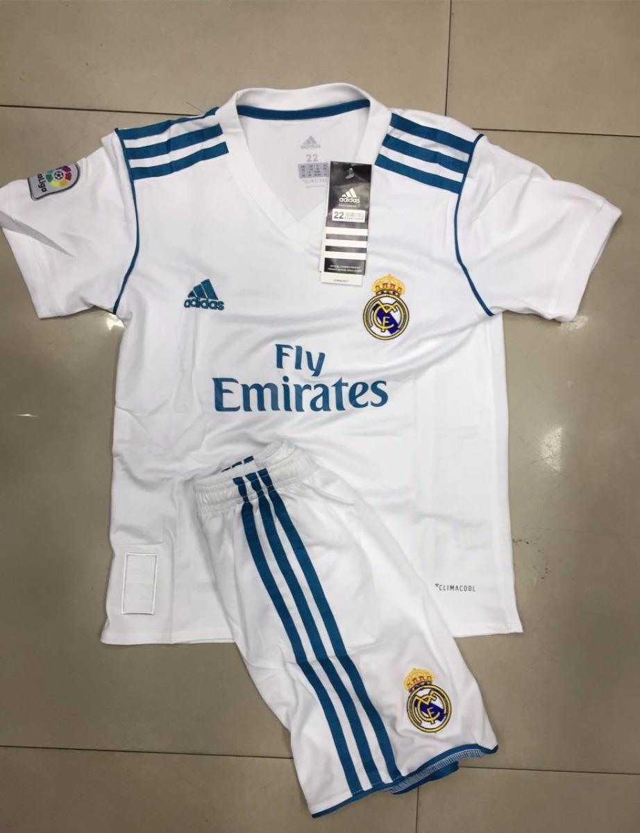novos uniforme real madrid infantil conjunto short camiseta. Carregando zoom . ccd1a4f44adeb
