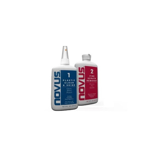 novus 7056 plastic polish kit - 8 oz