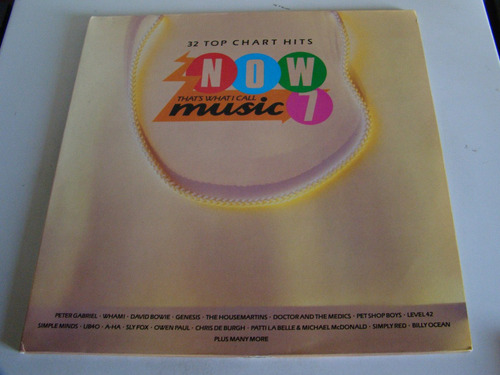 now thats what i call music vol 7 vinilo doble lp ingles ex