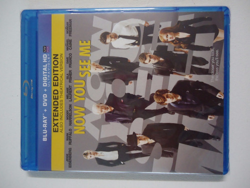 now you see me   -    blu-ray