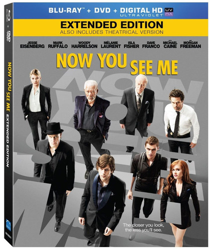 now you see me (extended edition) [blu-ray] (2013)
