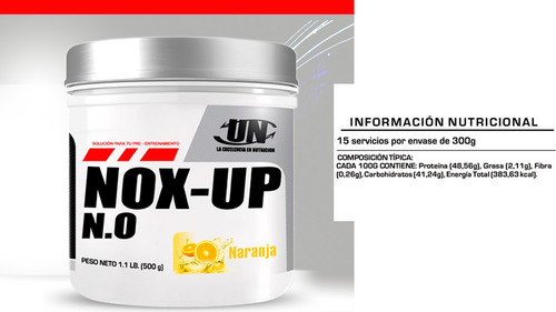 nox-up n.o. vasculizador oxido nitrico  gratis manual y  cd