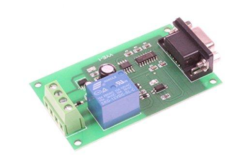 NOYITO 12V USB Control Switch Relay Module Serial Port Control Relay Control Board Serial Port RS232 Communication