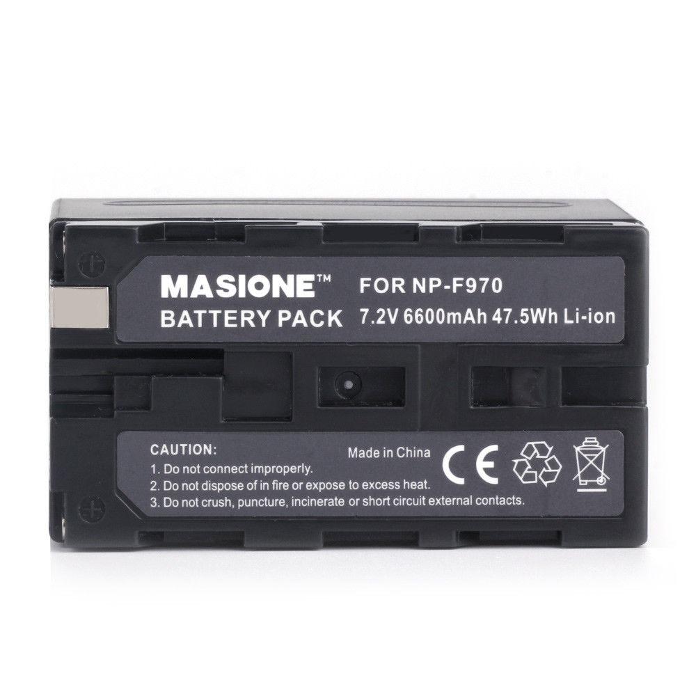 Reemplazo para Sony NP-F770 NP-F750 NP-F530 NP-F570 F730 NP-F970//960 Batería x3