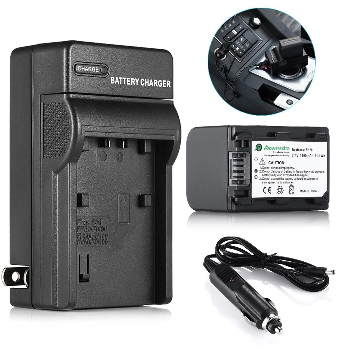 De pared AC batería Power Cargador Adaptador Para Sony videocámara Hdr-ux5 e Hdr-ux7 E