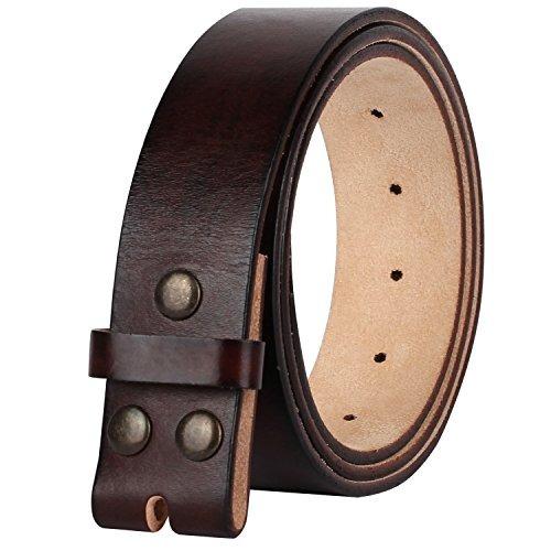 npet cinturón de cuero genuino de los hombres cierre de gran