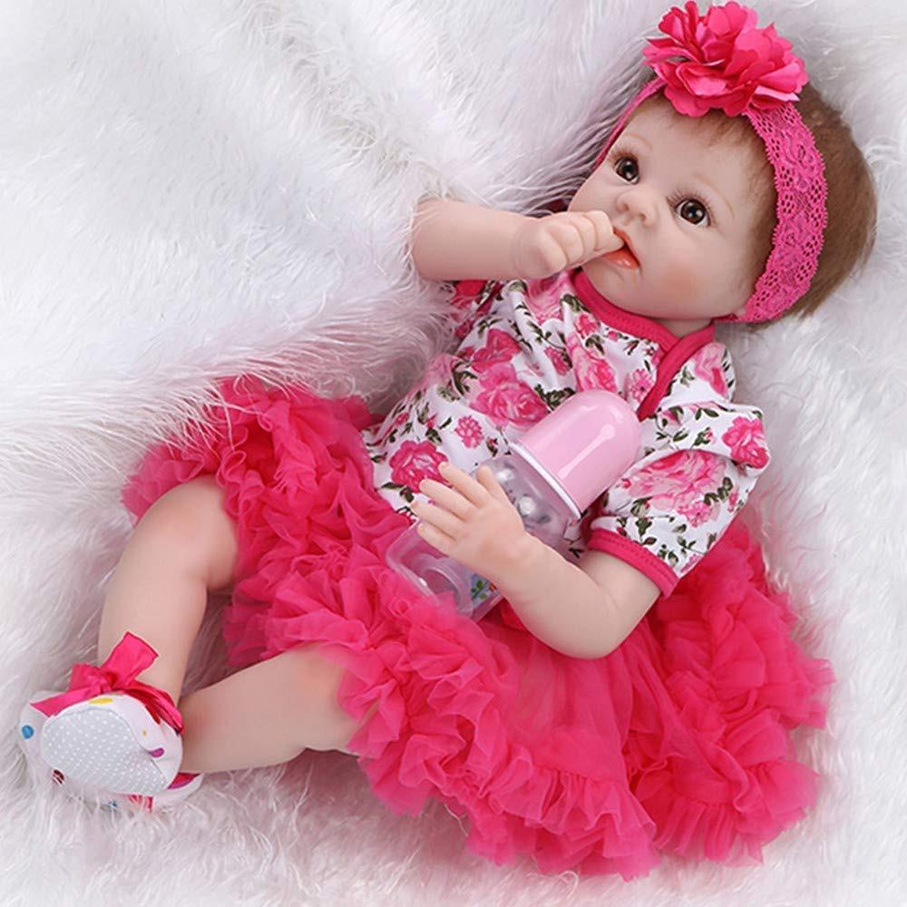 efed219488 npk reborn baby doll niño pequeño realista vinilo de sili... Cargando zoom.