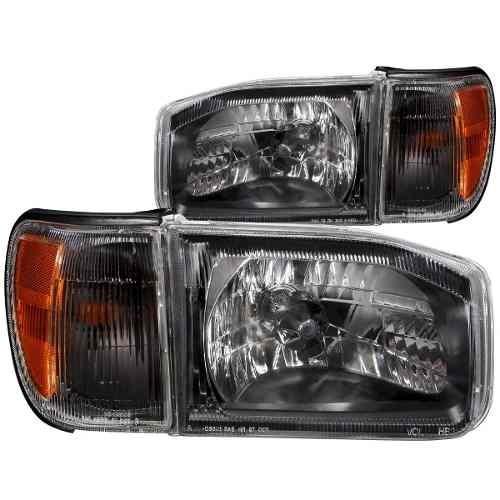 ns pathfinder 99-03 h.l black amber with corner light