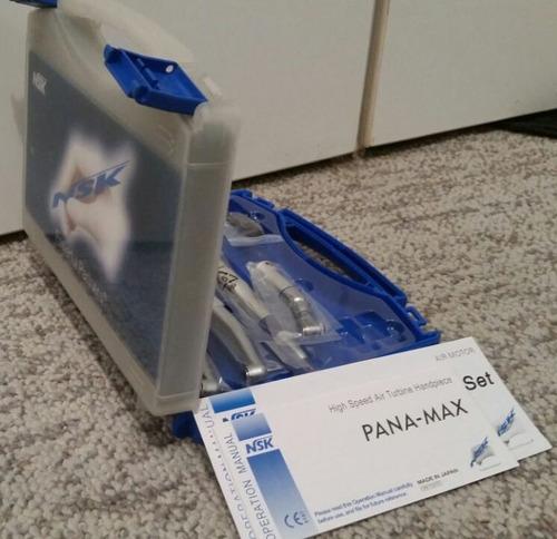 nsk push kit odontologico dental  2 turbinas pana-max ex-203