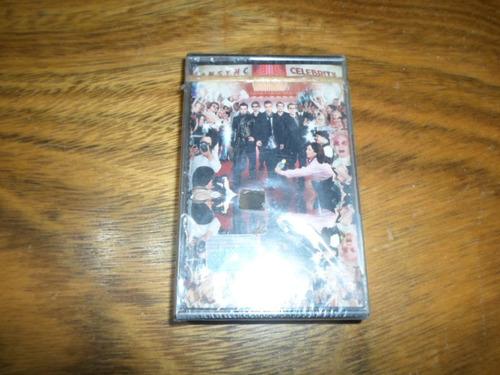 nsync - celebrity * cassette nuevo cerrado