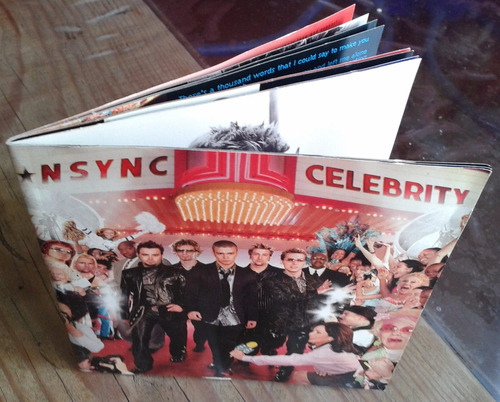 nsync celebrity cd made in mexico 2001  c/booklet