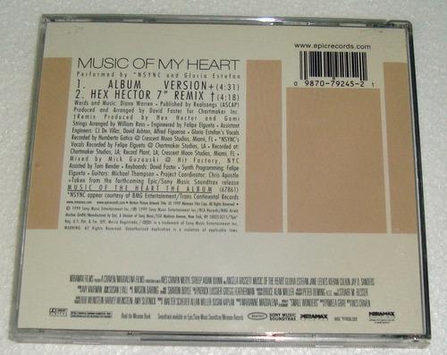 nsync gloria estefan music of the heart cd excelente