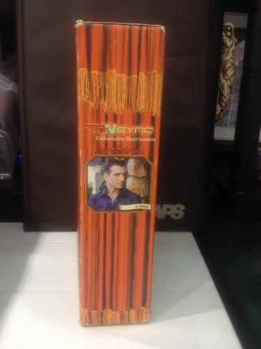 nsync no strings attached marioneta de  jc chasez coleccion