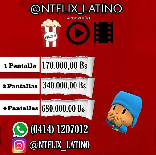 ntflix_latino adquiere tu cuenta ya