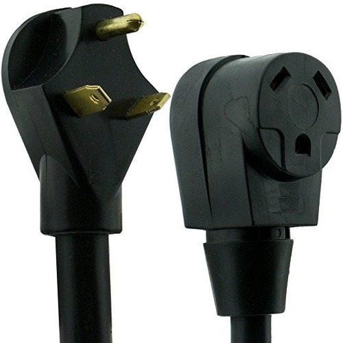 nu-cord 94626e 50 pies cord 30-amp rv extensión