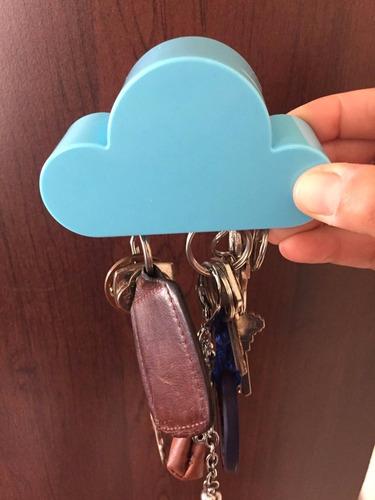 nube porta llaves magnetico para pared organizador llavero
