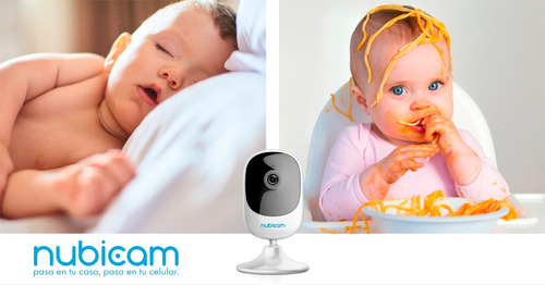 nubicam baby call inteligente hd vision nocturna wifi