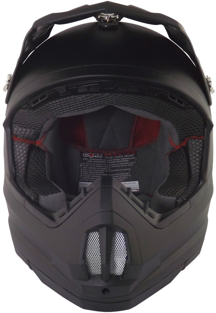 Núcleo De Cascos Mx-1 Off-road Casco (negro Mate 50d3ecc0970