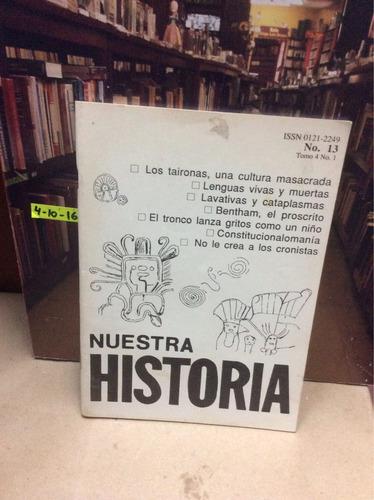 nuestra historia - los taironas - no. 13 - tomo 4