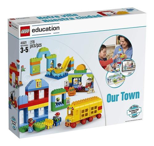 nuestro pueblo lego education