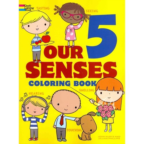 Nuestros 5 Sentidos Para Colorear Libro