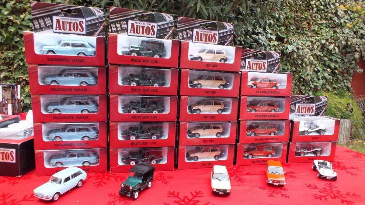 Nuestros Queridos Autos Escala 1 43 Coleccion 5 600 En Mercado Libre