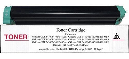 nueva 43979101cartucho de tóner ccmpatible con okidata oki