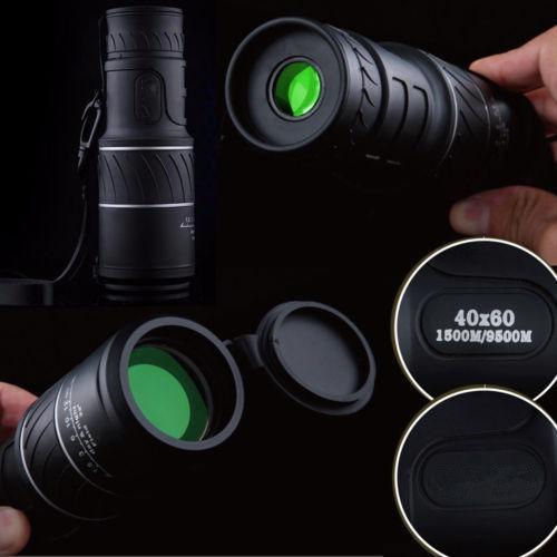 40 x 60 HD, visi/ón Diurna y Nocturna, Doble Enfoque, telescopio, Prisma, telescopio Redcolour/® Monocular de Alta Potencia
