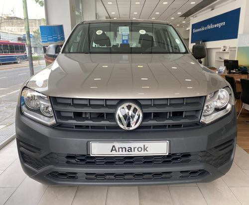 nueva amarok trendline 0km 4x2 manual 2.0 vw volkswagen 2021