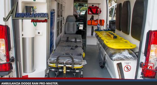 nueva ambulancia ram promaster 2500 2017