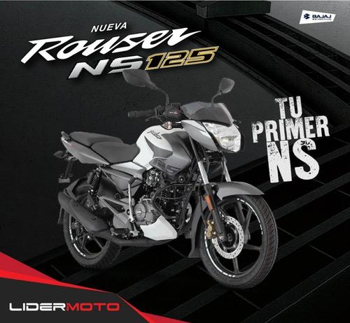 nueva bajaj rouser ns 125 frenos cbs exclusivo lidermoto!