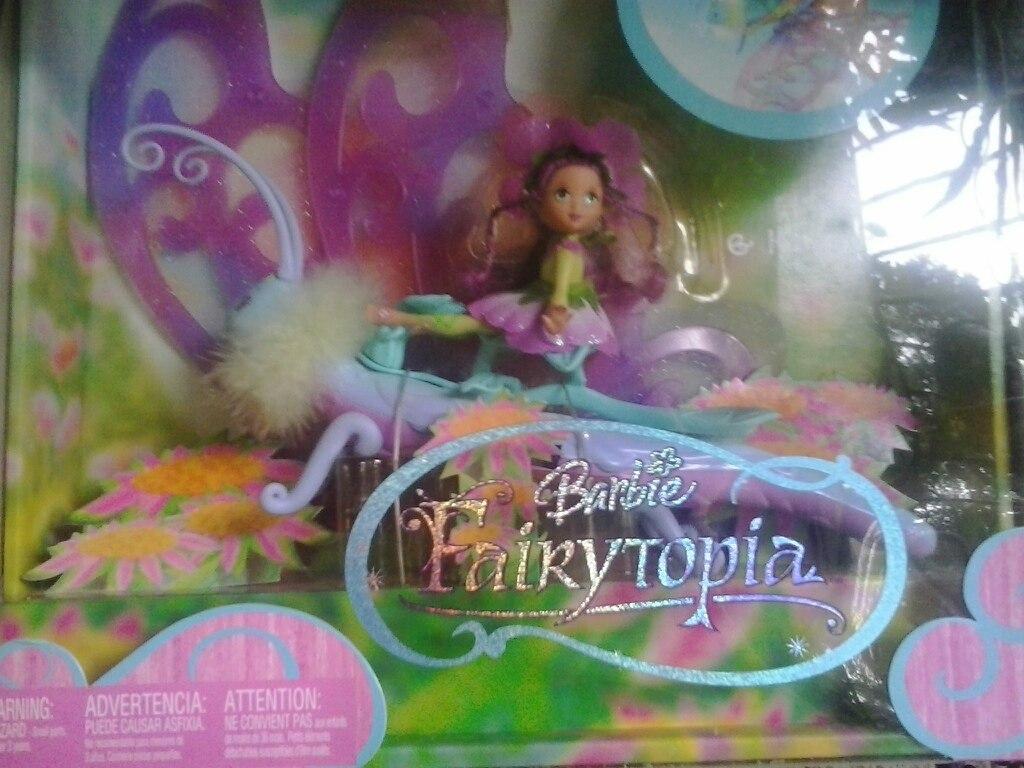 Nueva Barbie Mariposa Fairytopia Grande