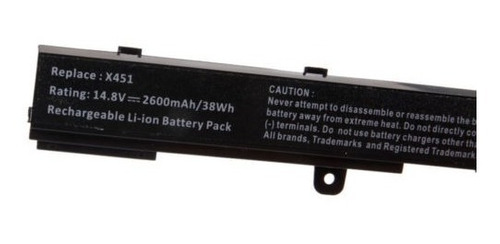 nueva batería para asus a31n1319 x a41n1308 x551c 551 x x551