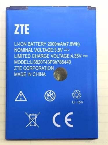 nueva bateria zte blade l2 plus 2000mha