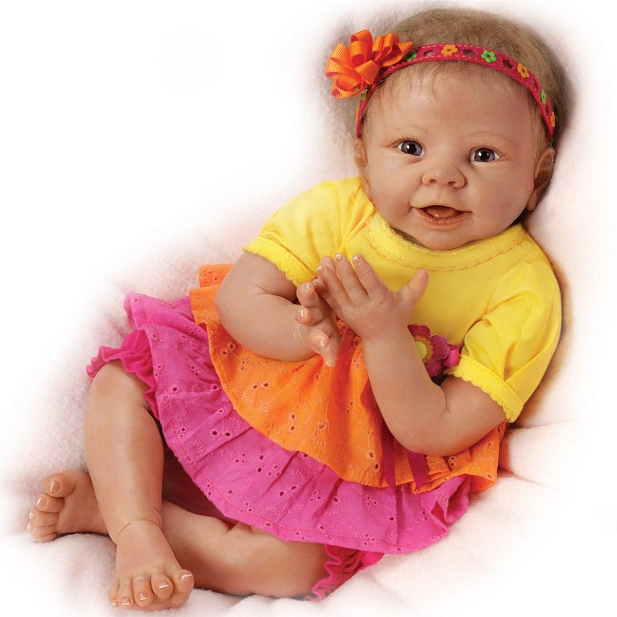 Nueva Bebe Reborn Interactiva Se Rie Sobrepedido 18