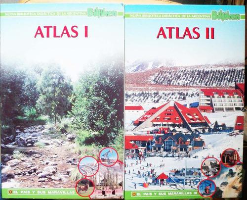 nueva biblioteca didáctica billiken / atlas 1 y 2