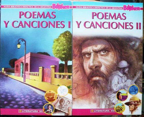 nueva biblioteca didáctica billiken / poemas y canciones