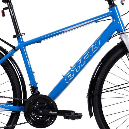 nueva bicicleta híbrida montaña ruta dtfly shimano 700cc