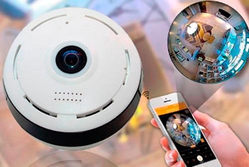 nueva camara de vigilancia wifi infraroja tipo platillo