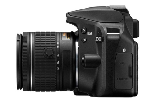 nueva camara nikon d3400 +18-55mm 24,2 mp+estuche