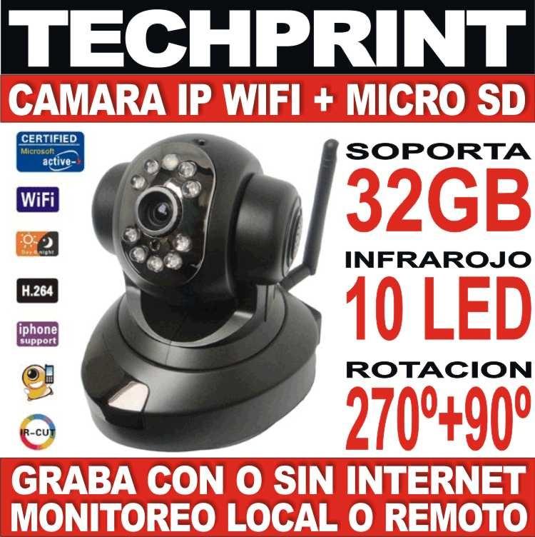 Nueva camara seguridad ip wifi funciona con o sin internet - Camara seguridad ip ...