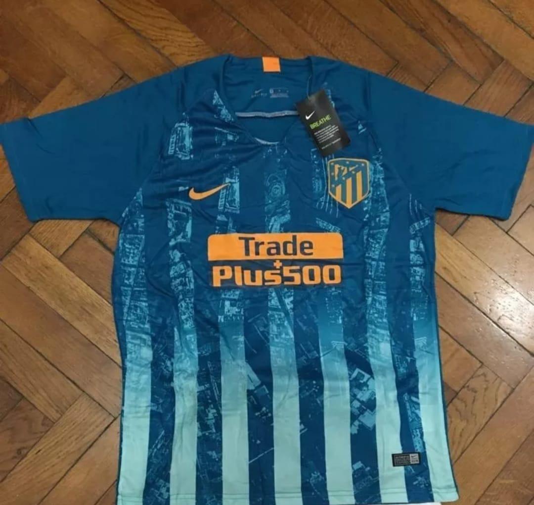 b6bc832b99b24 Nueva Camiseta Atlético De Madrid Suplente 2018 - 2019 -   59.990 en ...