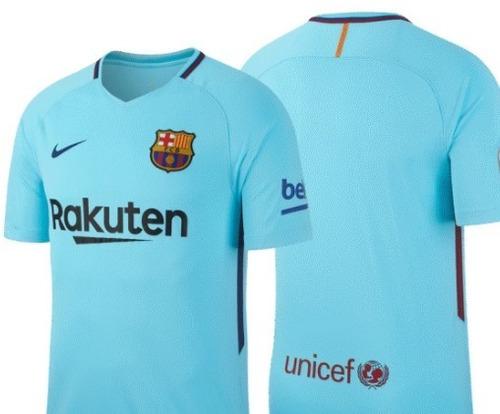 nueva camiseta barcelona  2017 2018 versión estadio