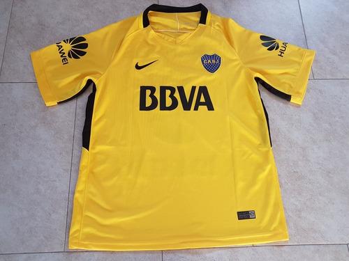 nueva camiseta boca jrs temporada 2017 - 2018 suplente !!