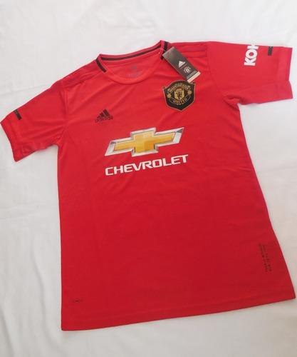 nueva camiseta manchester united 2019 - 2020 home