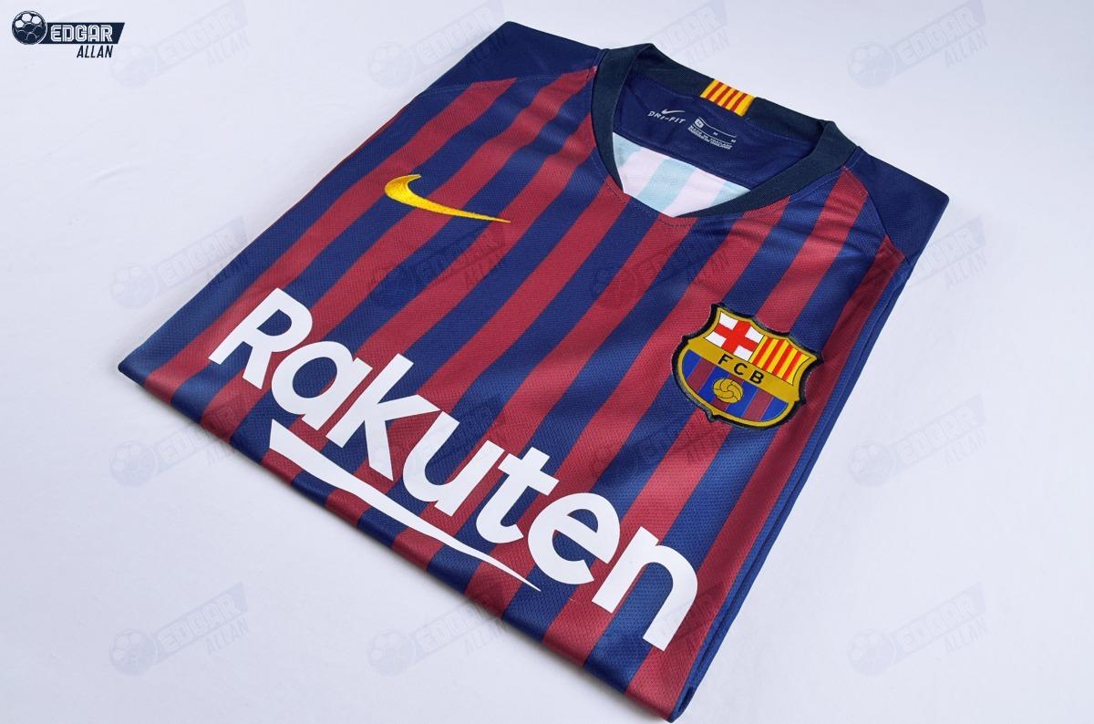 2efb4861a9511 Nueva Camiseta Original Barcelona 18-19 Messi Coutinho -   159.900 ...