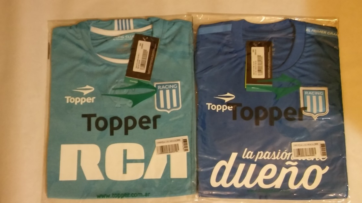 4c2081394 nueva camiseta racing topper alternativa niño 15 16. Cargando zoom.