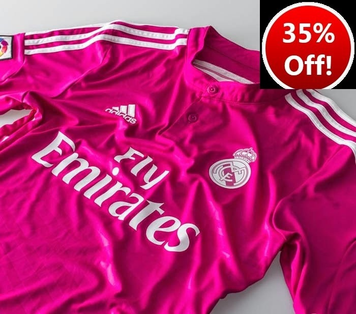 Nueva Camiseta Real Madrid 2014 2015 Original 35% Descuento ... 4fb182422907a