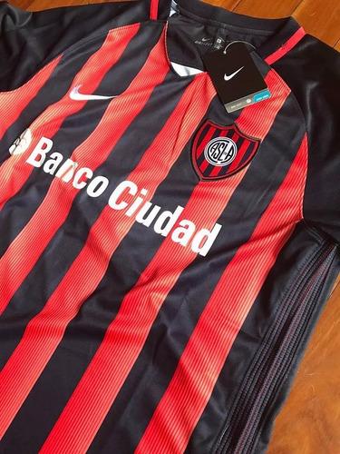 nueva camiseta san lorenzo titular 2017 envio gratis