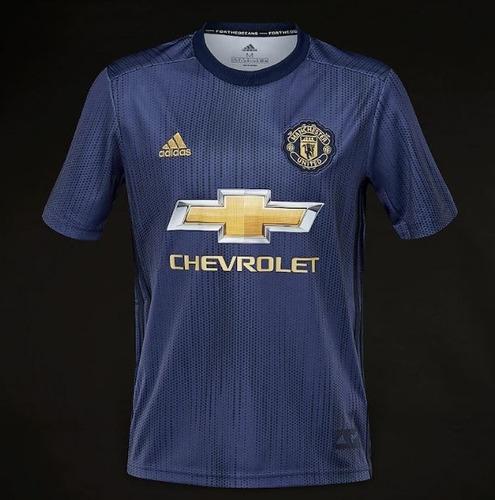 nueva camiseta visitante  manchester united 2018 - 2019